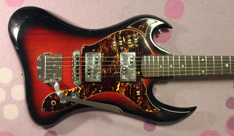 Electric Guitar In Japanese : 1968 imperial burns japanese electric guitar drowning in guitars ~ Hamham.info Haus und Dekorationen