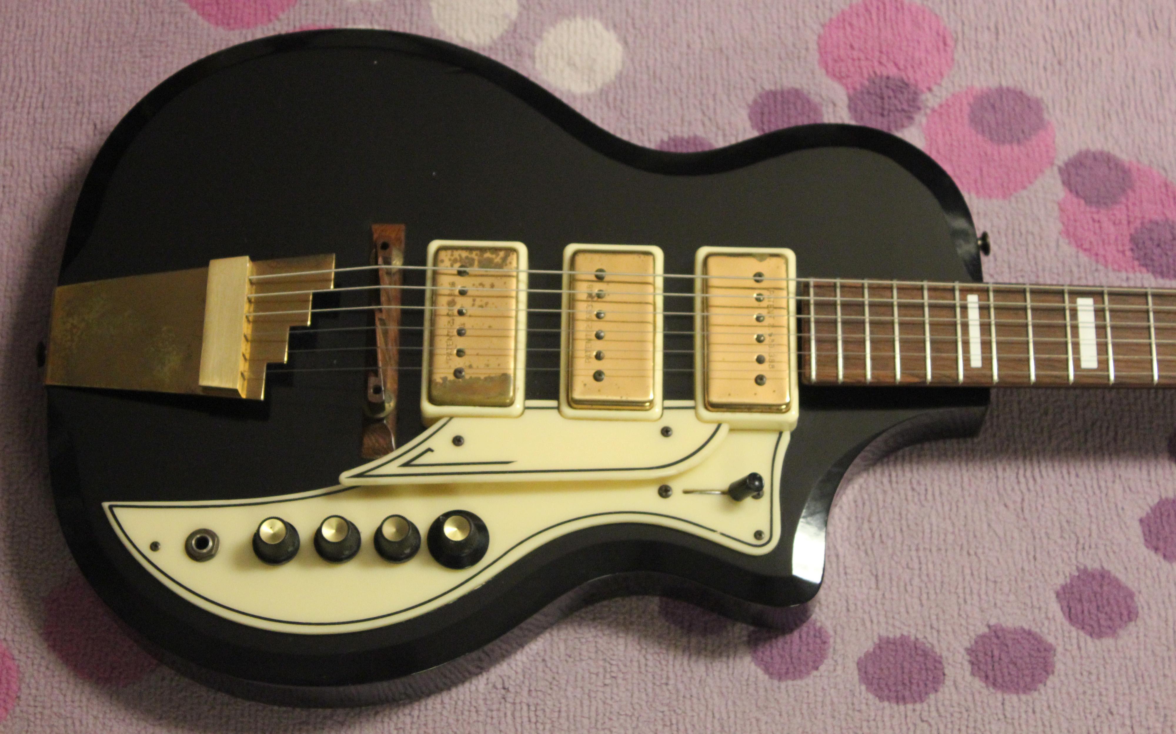 dating supro guitars