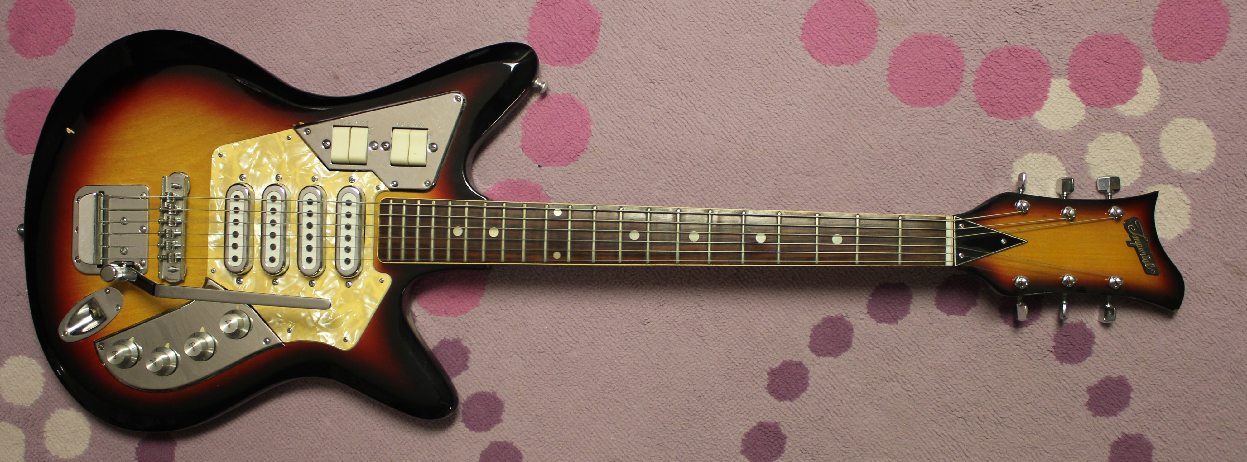 1968 Imperial Burns Japanese Electric Guitar Drowning In Guitars