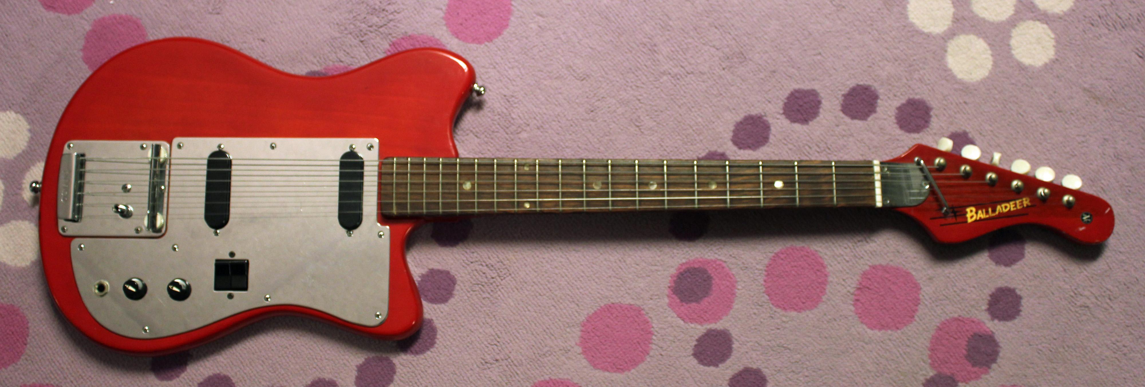 1971 Univox Hi Flier Japanese Guitar Drowning In Guitars Vantage Wiring Diagram Here