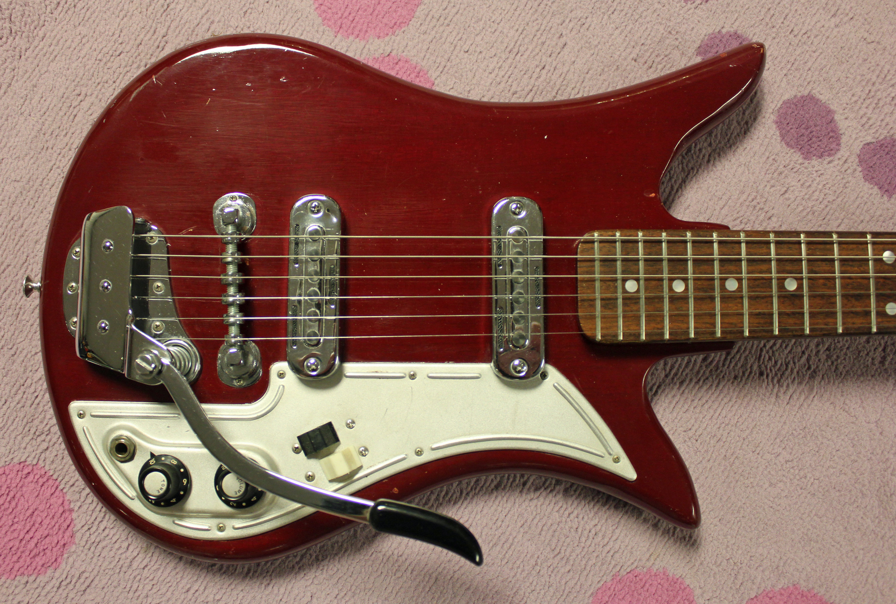 Garage Rock Hero 1960s Teisco Et200 Electric Guitar
