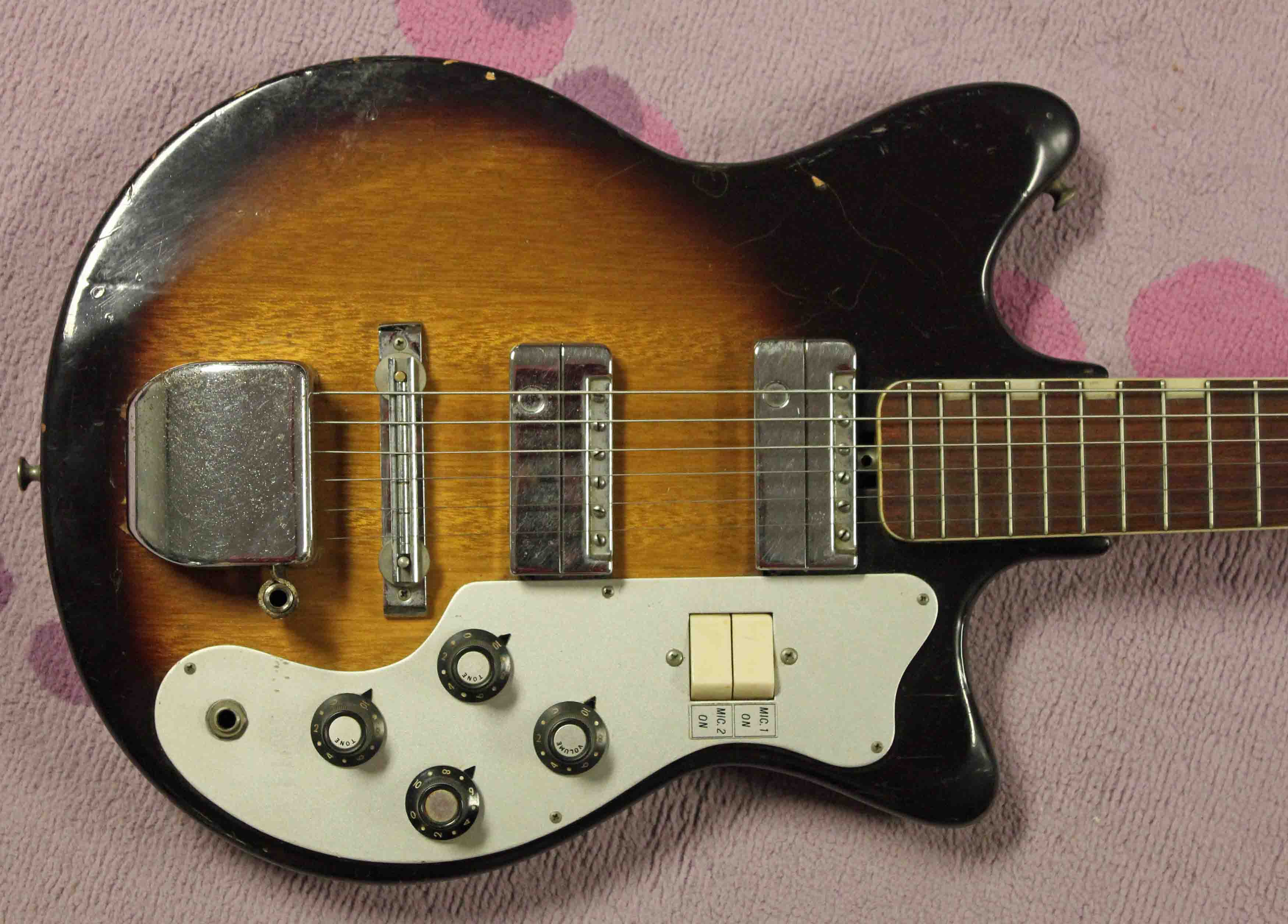 st george mj2 2 humble pie 1963 st george mj2 (teisco) guitar drowning in teisco del rey wiring diagram at mifinder.co