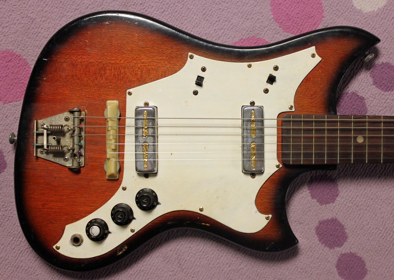 Electric Guitar In Japanese : faux fender 1960s unknown japanese electric guitar drowning in guitars ~ Hamham.info Haus und Dekorationen