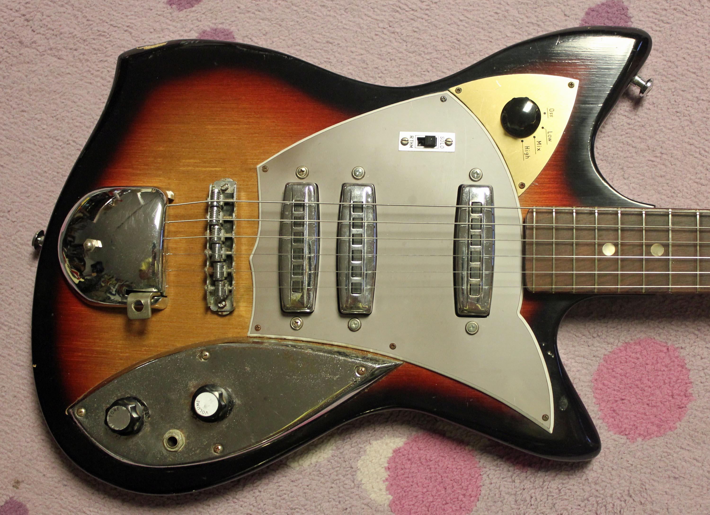 the victoria secret ca 1964 victoria zenon electric guitar drowning in guitars. Black Bedroom Furniture Sets. Home Design Ideas
