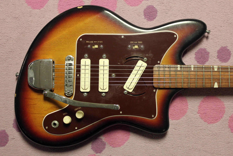Guyatone Pickup Wiring Database Library Bass Guitar Diagram 1966 Lg120t Drowning In Guitars 2 Humbucker Diagrams
