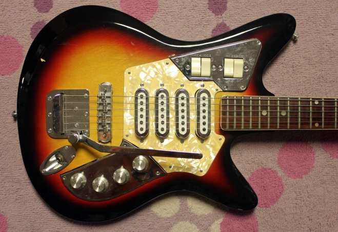 The 1967 68 Imperial Fujigen Electric Guitars Drowning